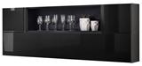 Show details for ASM Blox SB II Hanging Cabinet Set Black