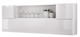 Show details for ASM Blox SB II Hanging Cabinet Set White