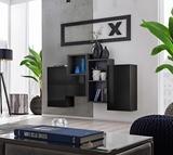 Show details for ASM Blox SB III Hanging Cabinet Set Black