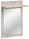 Show details for ASM Gustavo Mirror Type E Wellington Oak