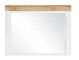 Show details for Black Red White Holten Mirror Wotan Oak/White