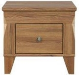 Show details for Bedside table Black Red White Bergen Sibiu Larch