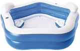 Show details for Bestway Family Fun Pool Blue/White