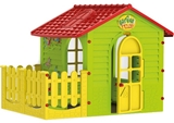 Show details for Mochtoys Garden House Green/Red 10839