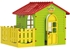 Picture of Mochtoys Garden House Green/Red 10839