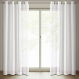 Show details for Curtain ANIKA 140X250 WHITE RINGS D