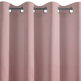 Show details for CURTAIN LEATHER ROSE / FLOWERS 135X250 N
