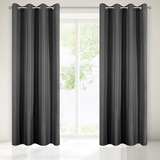 Show details for CURTAIN MORNING GREY / FLOWERS 140X250 N