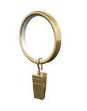 Show details for Curtain ring with pin D16 / 19, gold, 10pcs.