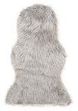 Show details for Faux Fur Carpet 60x90cm Grey