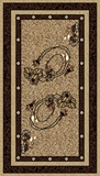 Show details for Carpet 1041 / B55, 0.8x1.5m, brown
