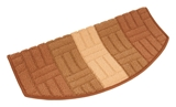 Show details for Carpet for steps MIA 29x57cm beige