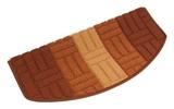 Show details for Carpet for steps MIA 29x57cm brown