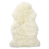 Show details for SHEEP CARPET MERINO WHITE, SIZE M