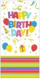 Show details for Herlitz Tablecloth 120x180 Happy Birthday Mix It