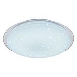 Show details for LED Ceiling Light 3000K-6400K Matt White + Dotty Sparkle
