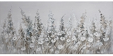 Show details for Home4you Oil Painting 46x96cm Flowers