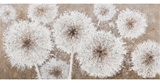 Show details for Home4you Oil Painting 46x96cm White Flowers