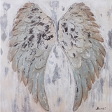 Show details for Home4you Oil Painting 90x90cm Angel Wings