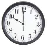 Show details for Bistro Wall Clock 36cm Black