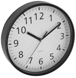 Show details for Asi Collection Wall Clock 25.5cm Black