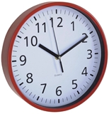 Show details for Asi Collection Wall Clock 25.5cm Red