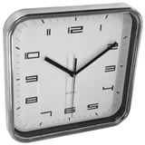 Show details for Asi Collection Wall Clock 25x25cm Silver