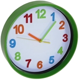 Show details for Asi Collection Wall Clock 28.5cm Green