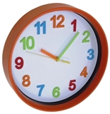 Show details for Asi Collection Wall Clock 28.5cm Orange