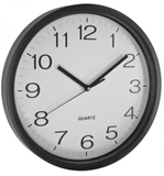 Show details for Asi Collection Wall Clock 31cm Black