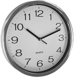 Show details for Asi Collection Wall Clock 31cm Silver