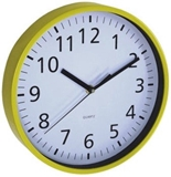 Show details for Asi Collection Wall Clock Ø 25,5cm Yellow