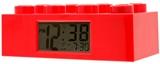 Show details for ClicTime LEGO Brick Alarm Clock Red