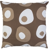 Show details for Home4you Cushion Summer 45x45cm Brown Dots