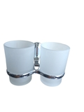 Show details for Holder with two glasses Okko F3114C, chrome