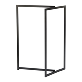 Show details for Aquanova Dhio Towel Rack Black