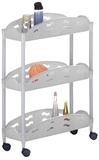 Show details for Axentia Bathroom 3 Shelves White