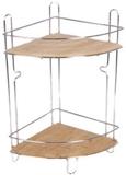 Show details for Axentia Bonja Bathroom Shelf Angle 2-Level