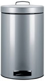 Show details for Brabantia Garbage Can 12l Metallic Grey