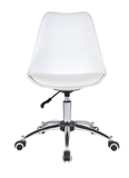 Show details for Chair AH-3001R AH-02 White