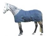 Show details for Horse blanket blue