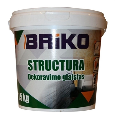 Picture of PUTTY DECORATION STRUCTURE 1.5KG BRIKO