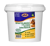Show details for Putties for wood, for exterior ELVI WHITE 480g/1.60kg