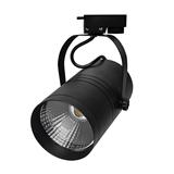 Show details for LED Interior Track Light Black Body COB