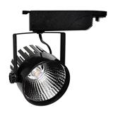 Show details for LED Interior Track Light COB Black Body